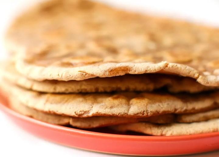 Sweet Potato Flatbread | Gluten-Free, Vegan, & Oil-Free