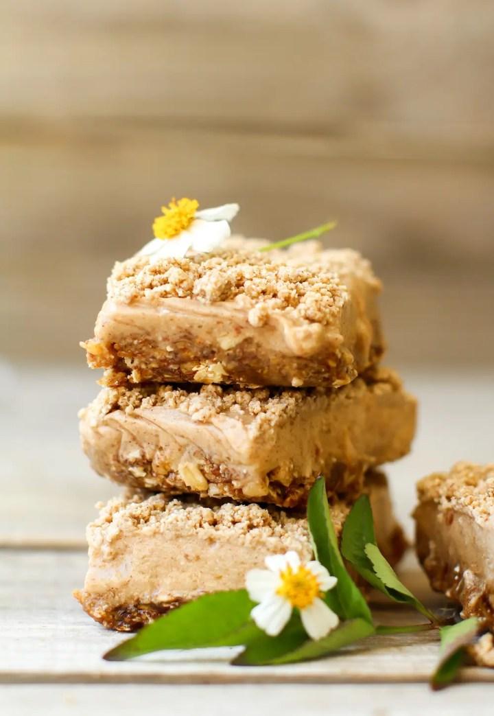 IMCinnamon Streusel Ice Cream Bars (vegan + gluten-free)