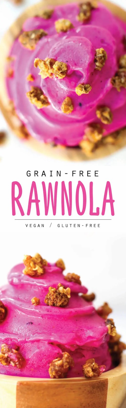 Grain Free Rawnola Recipe (2 ways!) | Vegan, Raw, Nut-Free