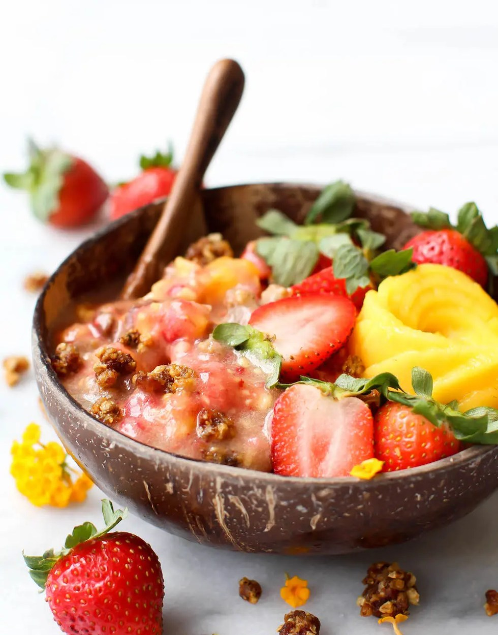 strawberry raw cereal vegan u0026 100 fruit