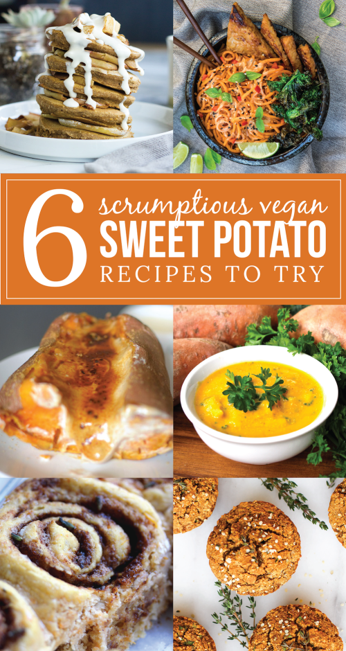 Vegan Sweet Potato Recipe Collaboration