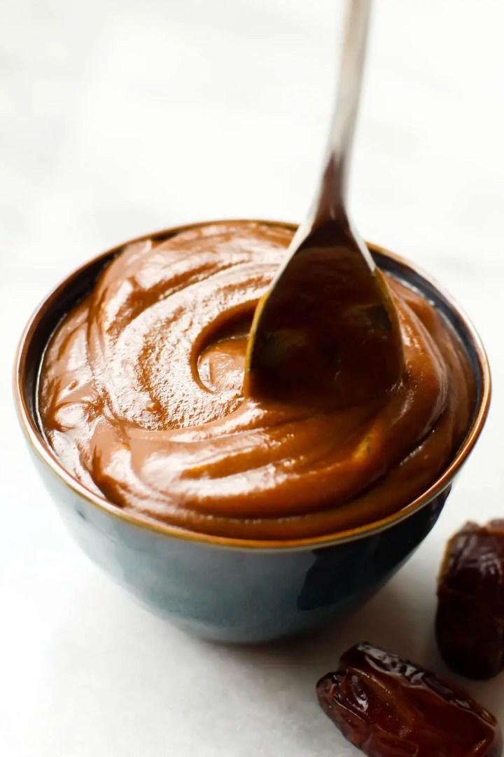 Silky Sweet Vegan Date Caramel Sauce