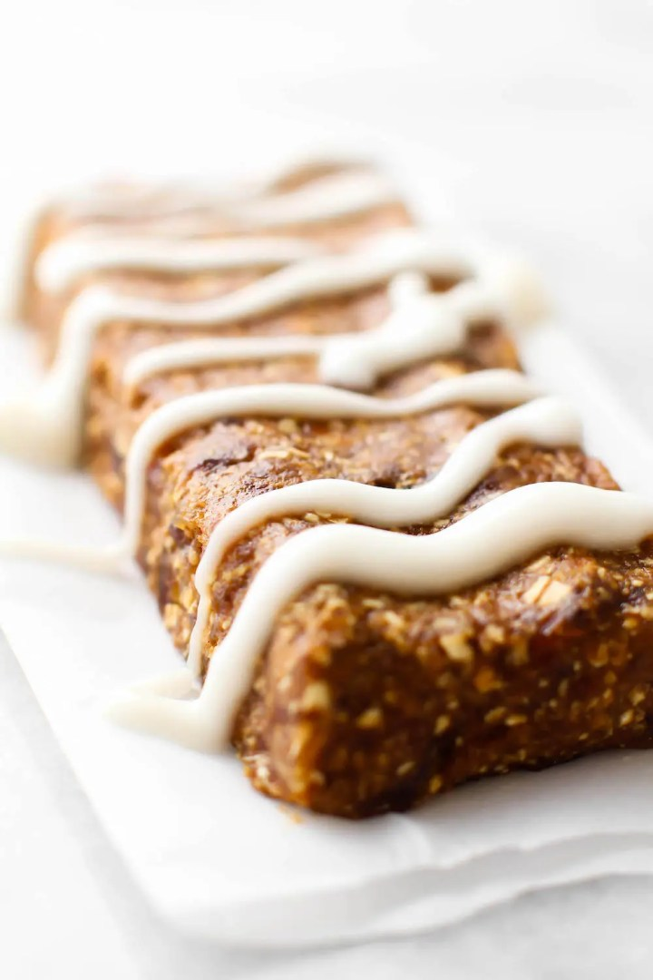 No-Bake Gingerbread Bars