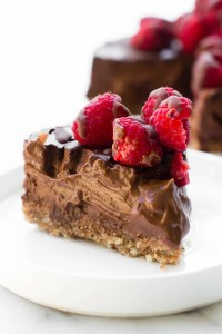 Low-Fat Chocolate Mousse Cake