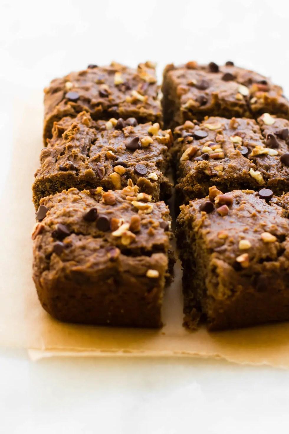 Banana Flour Chocolate Chip Cake {vegan & grain-free}