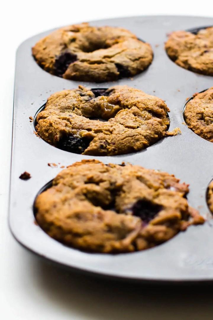 White Chocolate Blackberry Donuts {Vegan, Gluten-Free, Oil-Free}