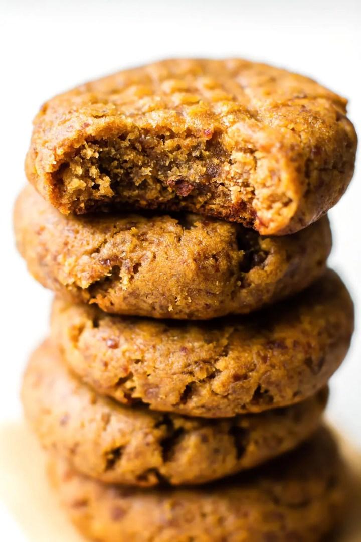 Vegan Grain-Free Peanut Butter Cookies