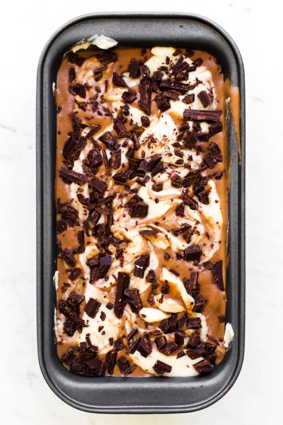 Vegan French Silk Ice Cream (no-churn!)