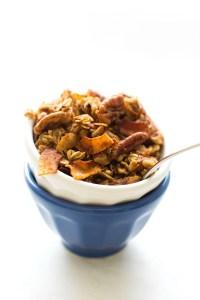 Vegan Maple Bacon Granola