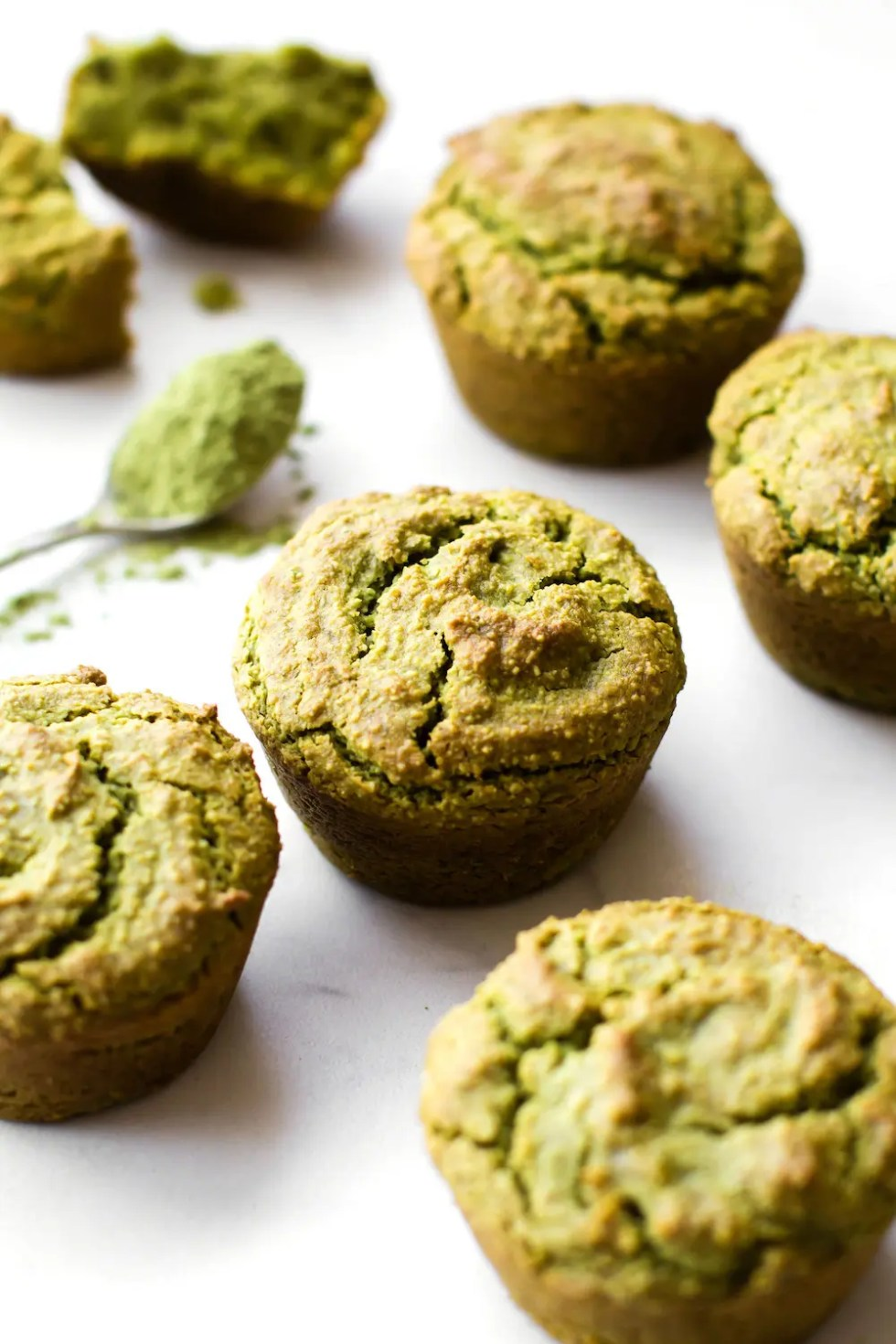 Avocado Matcha Muffins Vegan Paleo Feasting On Fruit