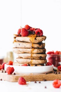 Chocolate Chip Buckwheat Pancakes