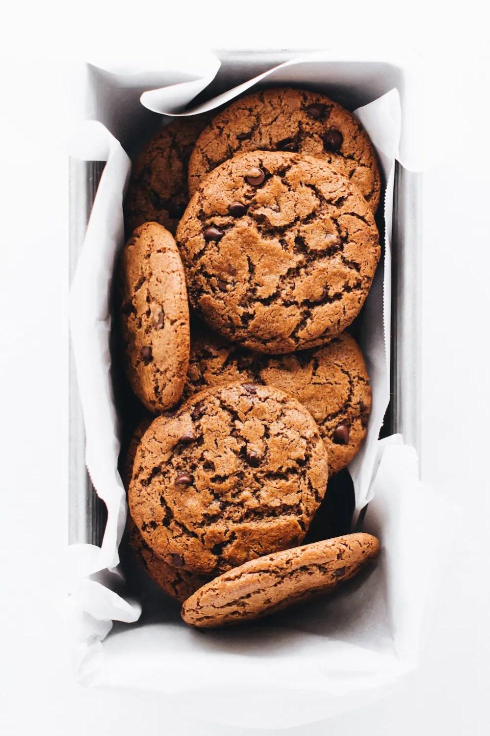 Crispy Chocolate Chip Cookies (Vegan + Paleo)