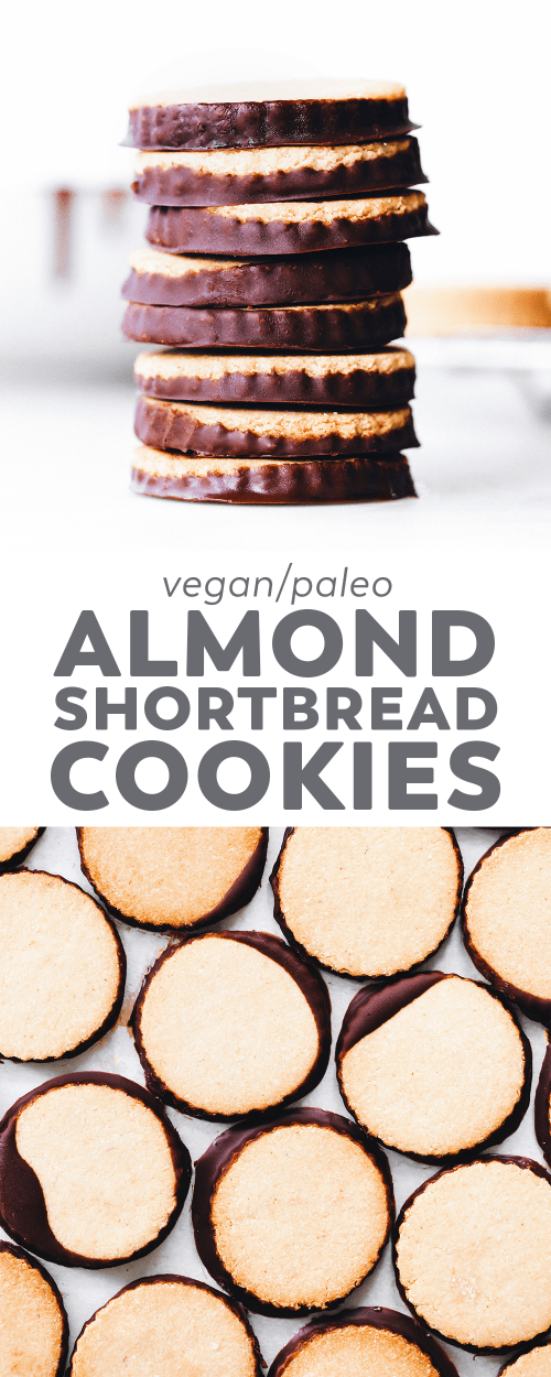 Almond Shortbread Cookies