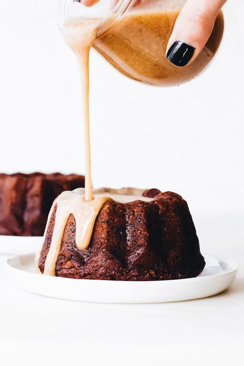 Medjool Date Sticky Toffee Pudding