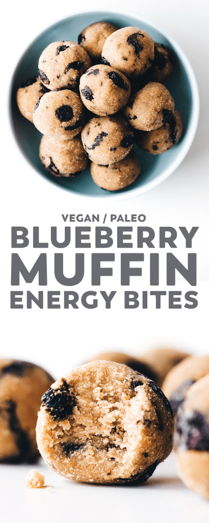 Blueberry Muffin Bites