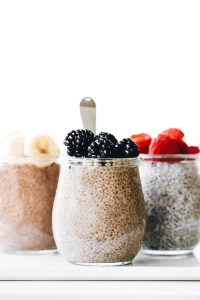 3 Latte-Inspired Chia Puddings (in the blender!)