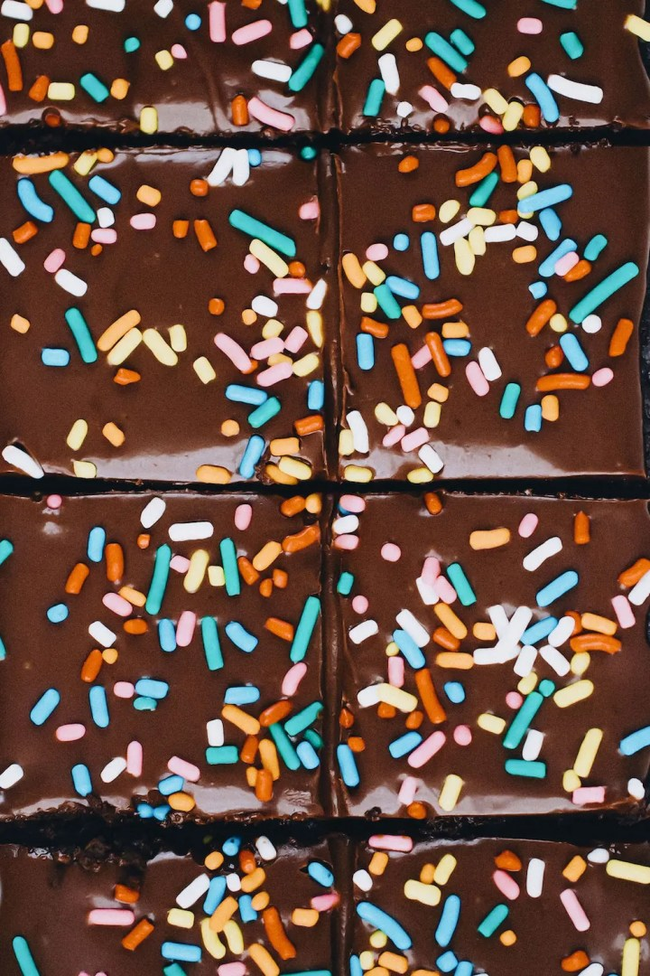 Vegan Cosmic Brownies