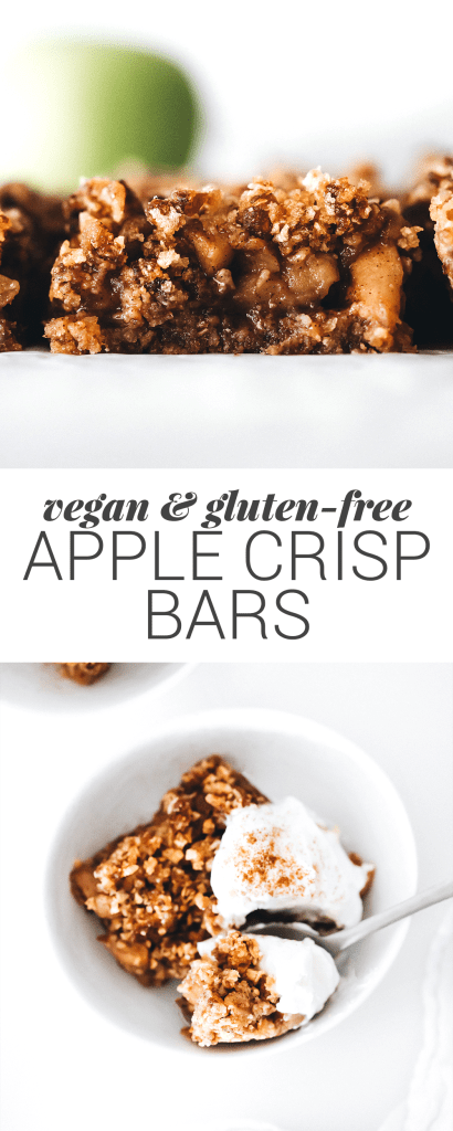 Apple Crisp Bars (vegan + gluten-free)