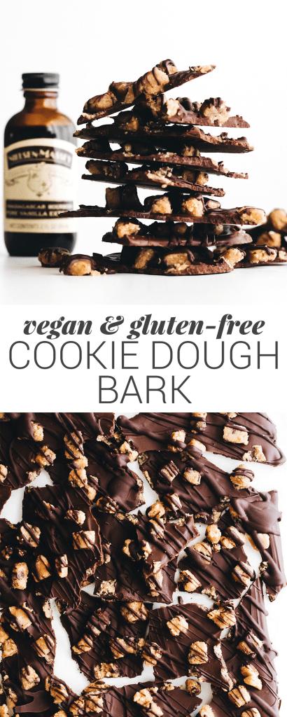 Cookie Dough Chocolate Bark