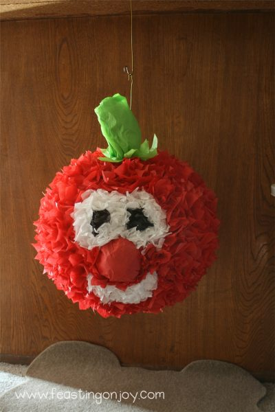 Bob the Tomato Pinata