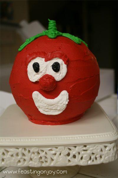 Bob the tomato Cake