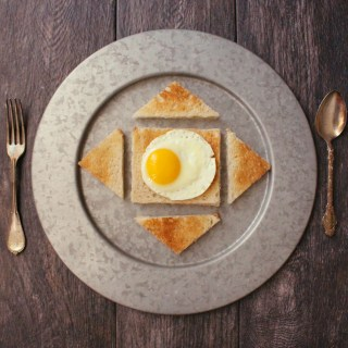Harry Potter Egg Toast Hogwarts