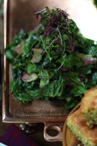 Elrond's Feast: Greens with Herb Dressing