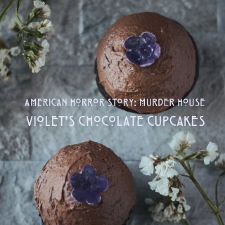 Food from American Horror Story, AHS Murder House, Cupcake Violets