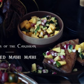 Food from Pirates of the Caribbean, Grilled Mahi Mahi Recipe