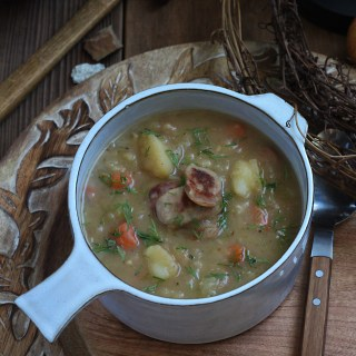 Snow White and the Seven Dwarfs: Potato and Sausage Soup Recipe