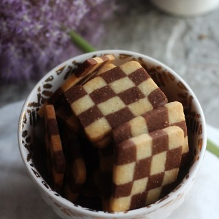 Alice in Wonderland: Checkerboard Cookies Recipe