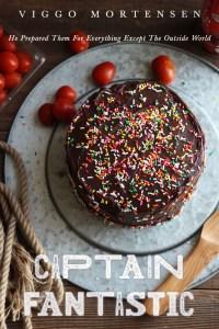 Captain Fantastic: Chocolate cake and Whip Cream