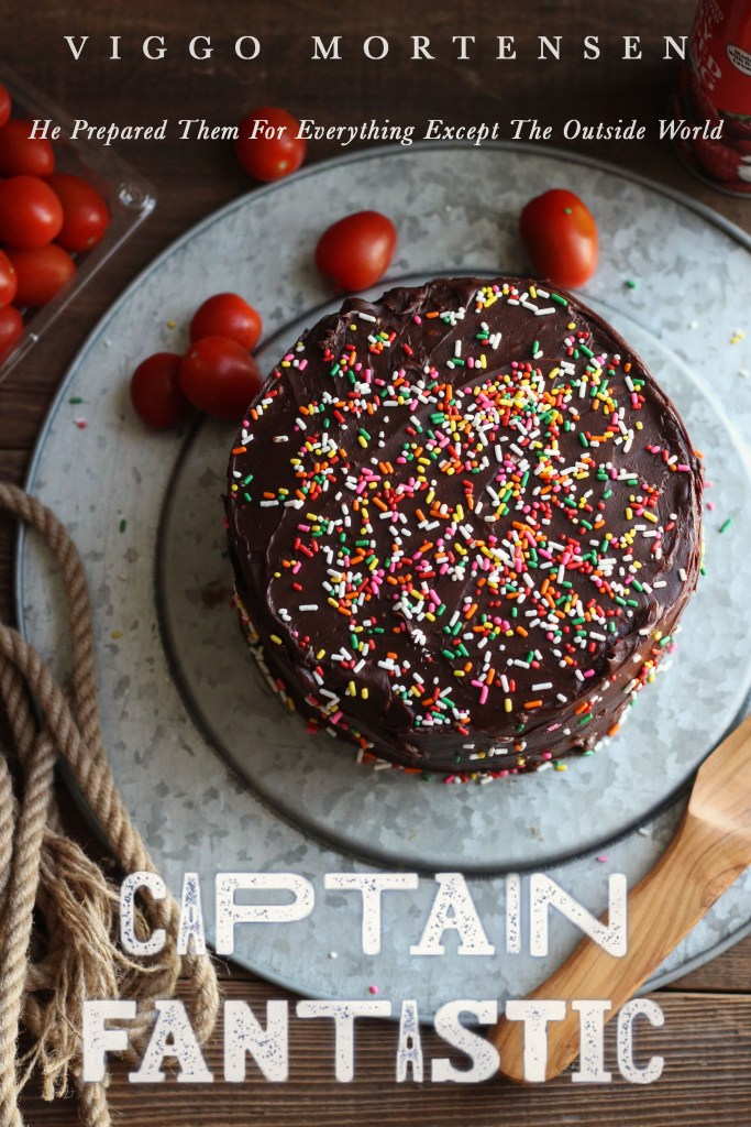 Captain Fantastic: Chocolate cake and Whipped Cream
