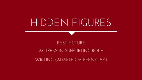 Hidden Figures: Food Series