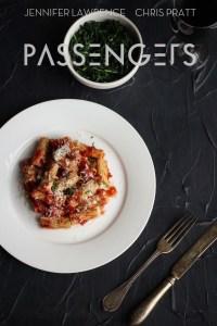 Passengers: Rigatoni alla Diabla and Sauteed Spinach Recipe