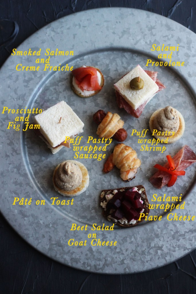 Beauty and the Beast Hors d'oeuvres with The Grey Stuff recipe