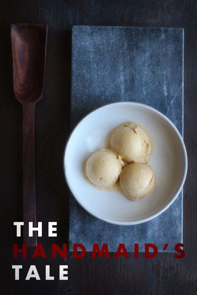 The Handmaid's Tale: Salted Caramel Ice Cream Recipe