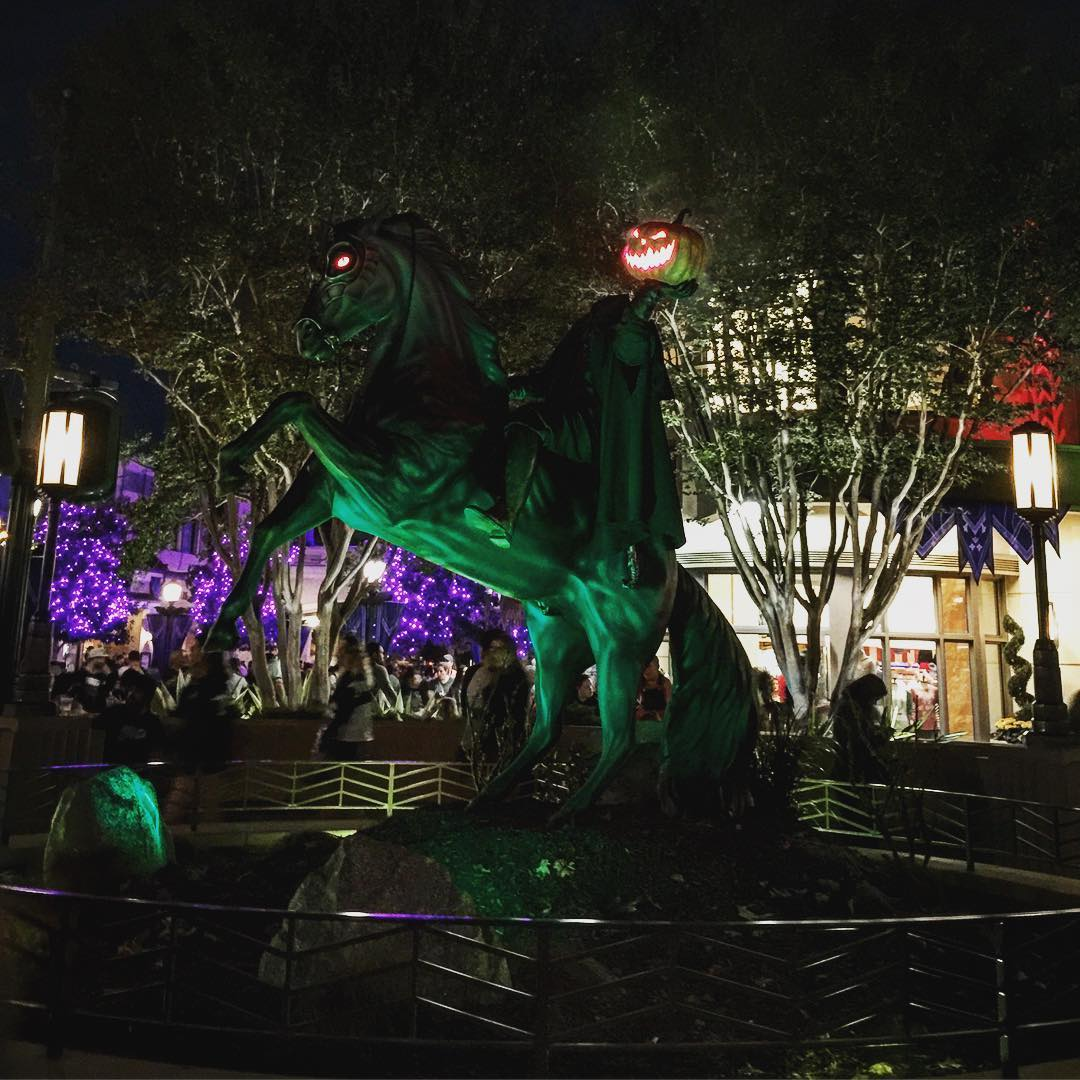 DCA is looking incredible for Halloween!    hellip