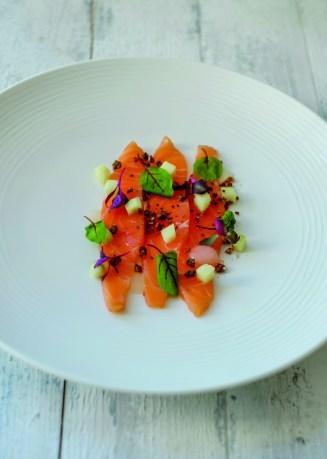 Gin-Cured Salmon