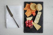 Local cheeses & crumpets
