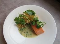 Confit salmon