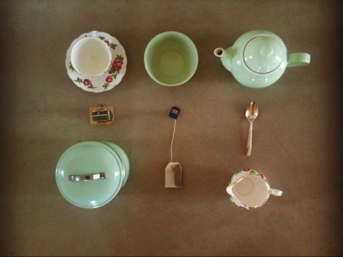 second hand styling link up :: tea