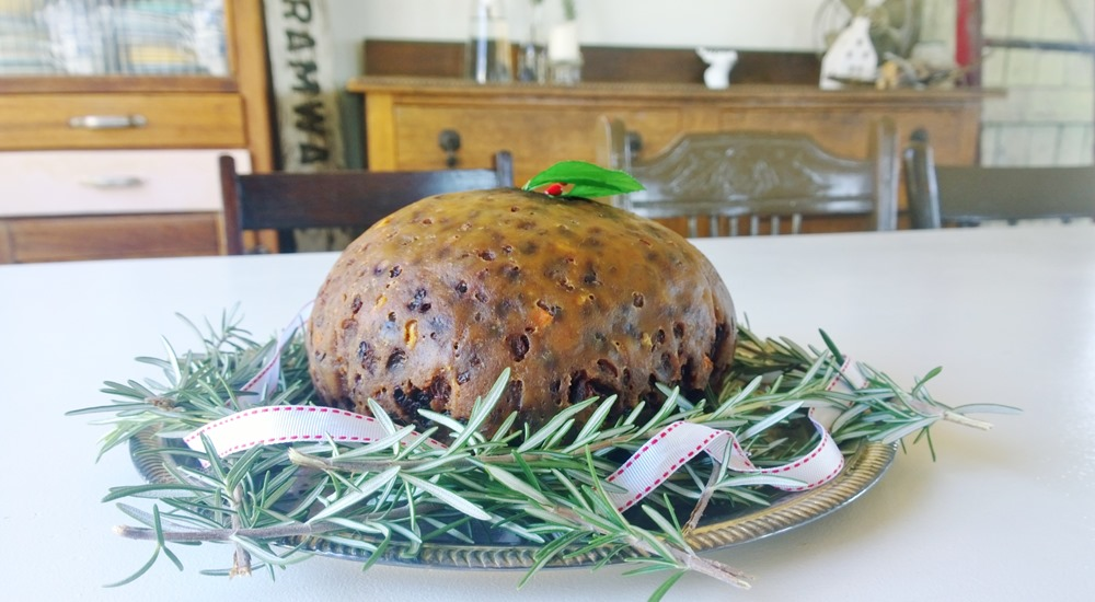 christmas pudding: my nan's recipe
