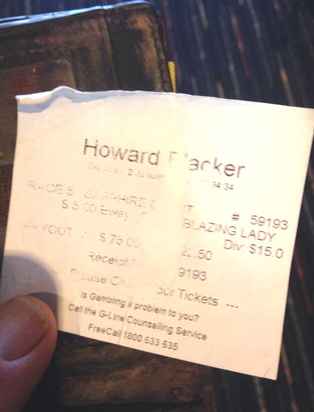 howard blacker 2