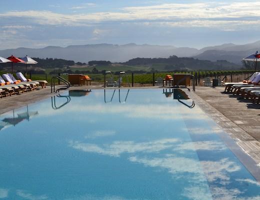 carneros inn hillside pool