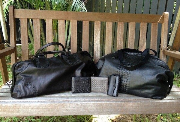Men's Bottega pieces (purchased by Georgie for her husband)