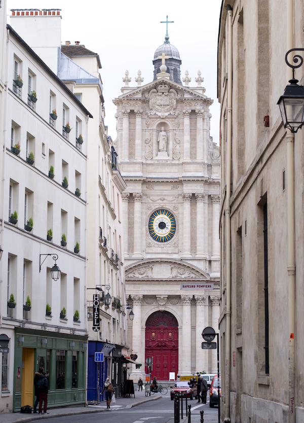 Paris - Marais Church