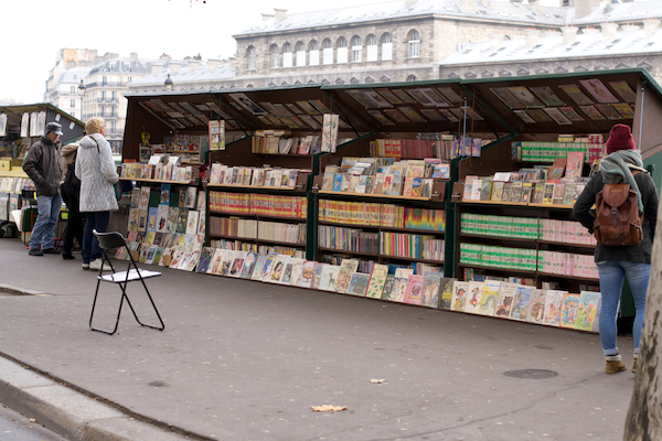 Paris - Seine Books