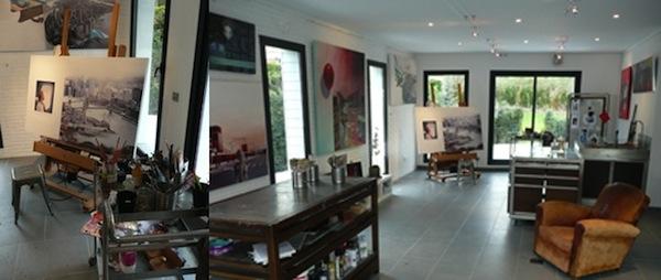 Corinne's studio