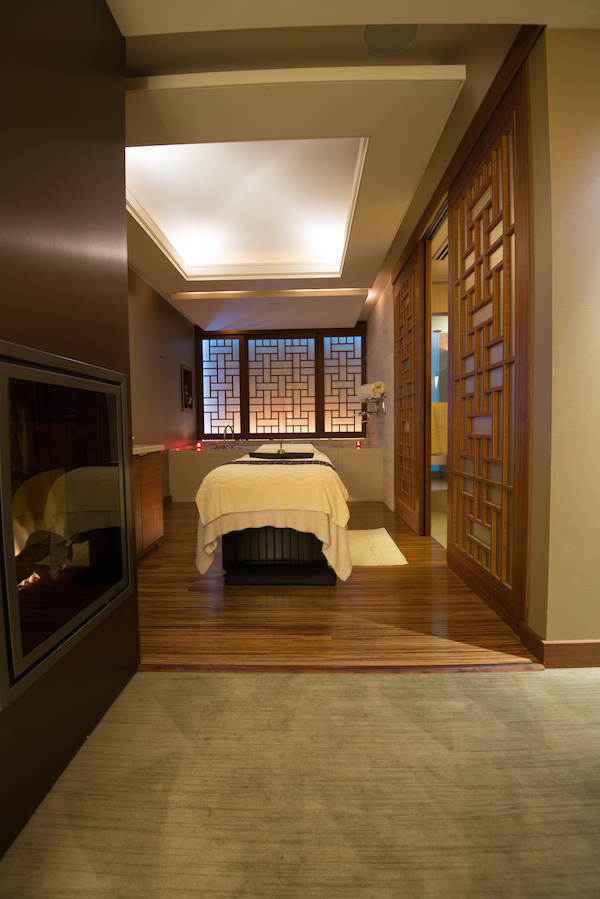 Shangri La Vancouver CHI Spa single room